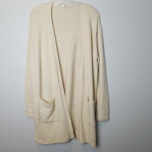 Madewell Kent cardigan in coziest Yarn Small